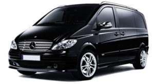 Mercedes maxi cab - people mover for Melbourne airport transfers