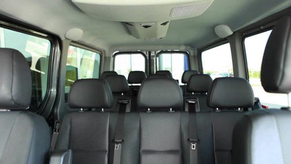 mini bus seats 12 passengers