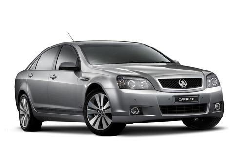 Holden Caprice chauffeur hire car